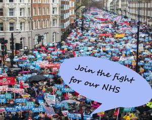 March in support of the NHS