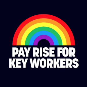 Pay rise for key workers logo