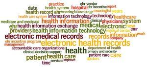 Health Data Word Cloud