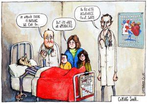 NHS cartoon